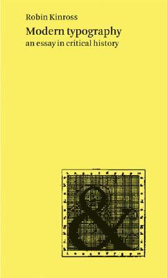 Modern Typography By Kinross, Robin